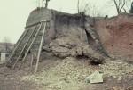 Baluardo della Montagna durante il restauro negli anni '80. Archivio Michele Pastore