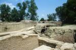Restauro delle mura negli anni '80. Archivio Paolo Ravenna