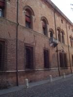 Facciata dell'edificio su corso Ercole I d'Este