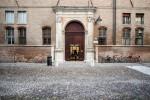 Corso Ercole I d'Este 32, ingresso del Dipartimento di Biologia ed Evoluzione dell'Ateneo ferrarese