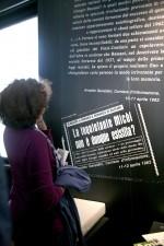 MEIS. Inaugurazione della mostra Che bel romanzo. Fotografia Federica Poggi, 2012. © MEIS