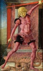 c. 1460-65, olio su tavola, cm 21,6 x 13, Venezia, Fondazione Giorgio Cini,  Galleria di Palazzo Cini