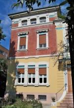 Villa Amalia (1905), la facciata. Fotografia di Federica Pezzoli, 2015. © MuseoFerrara