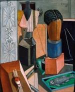 Carlo Carrà, La camera incantata, 1917 (Milano Pinacoteca di Brera)