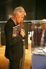 MEIS. Inaugurazione della mostra Ebrei a Ferrara. Il Ministro Massimo Bray. Fotografia di Federica Poggi, 2013. © MEIS