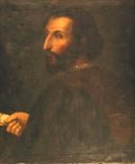 Olio su tela, cm 65x54, sec. XVI-XVII. Ritratto del poeta a mezzo busto, in abito nero con gorgiera bianca, nella mano destra tiene un foglio. Sul retro della tela un'iscrizione indica il nome dell'autore, Carlo Bononi (Ferrara 1569-1632). Il quadro è esposto nella Sala Rossa di Palazzo Ducale.