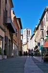 Via Mazzini nei ricordi di de Chirico e Savinio