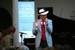 Festa del Libro ebraico. Incontro con Arnoldo Foà. Teddy Reno. Fotografia di Federica Poggi, 2011. © MEIS