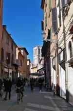 Via Mazzini (già via dei Sabbioni). Fotografia di Federica Pezzoli, 2015. © MuseoFerrara