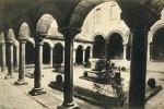 Il chiostro in una foto degli anni Quaranta antecedente al bombardamento