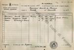 Stato di famiglia di Daniele Zamorani. ASF, b7, f162, c5. © Archivio di Stato di Ferrara