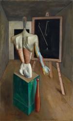 Carlo Carrà, Solitudine, 1917 (Collezione privata)