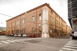 Sede del Dipartimento di Biologia ed Evoluzione dell'Ateneo ferrarese, all'angolo tra Corso Ercole I d'Este, corso Biagio Rossetti e Corso Porta Mare