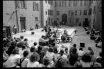 Nel cortile di Palazzo Muzzarelli Crema va in scna l'allestimento del Teatro Nucleo Don Quichote per la rassegna Percorsi nel Teatro. Fotografia di Marco Caselli Nirmal ©