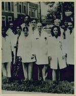 Personale dell'ospedale. Archivio fotografico prof. Francesco Portaluppi. © Francesco Portaluppi