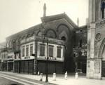 La facciata in una foto degli anni Trenta