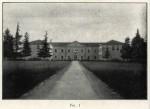 Villa del Seminario, vista frontale. Tratta dal libro di Gaetano Boschi, 1918